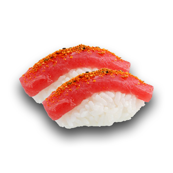 Sushi thon spicy